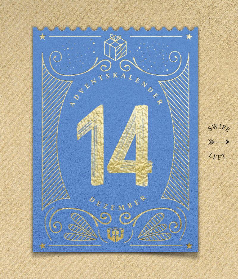 Kalender-Türchen 14. Dezember