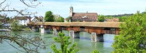 Bad Saeckingen Holz Brücke