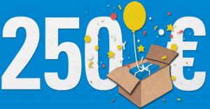 MyPaketshop 250 Euro Amazon Gutschein gewinnen