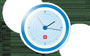 Uhr mit Öffnungszeiten von MyPaketshop