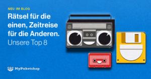 Diskette, Pager, MiniDisc und Co.: Kennen Sie das noch + Tipps zum Kauf