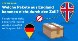 Falschangabe bei Sendungsverfolgung - Pakete aus Großbritannien kommen nicht bei uns an