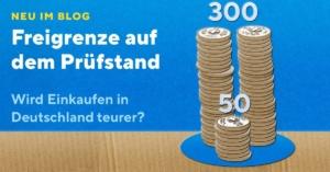 Teureres Grenzshopping? 300-Franken-Freigrenze bald bei 50 CHF?