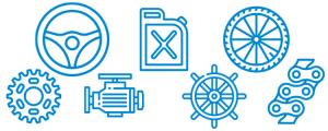 Autoteile, Boot, Fahrrad