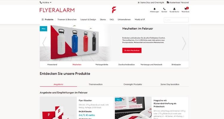 Online Druckerei Flyeralarm