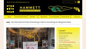Hammett Krimibuchhandlung