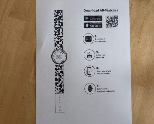 PDF mit Marker für App