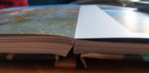 Detailaufname Fotobuch