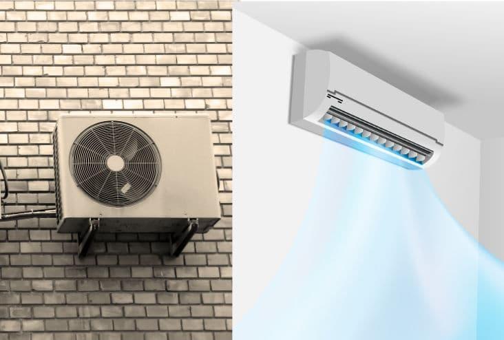 Klimaanlage- Splitgerät
