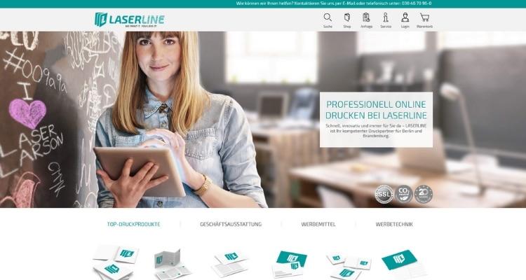 Online Druckerei Laserline