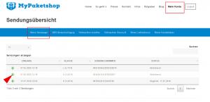 MyPaketshop-ID im Kundenkonto finden-Schritt 1