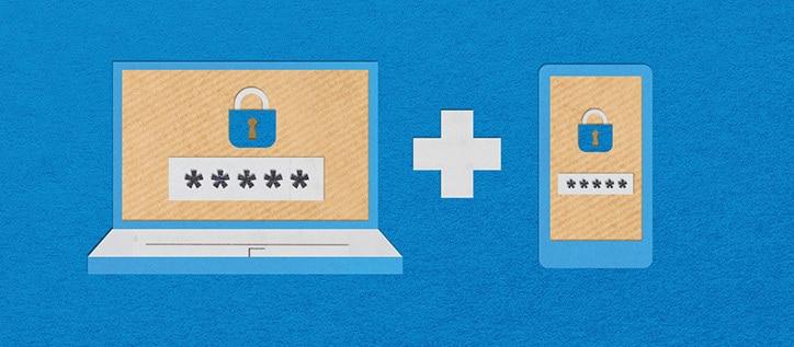 Titelbild Zwei-Faktor-Authentifizierung