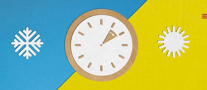 Uhr welche das vorstellen der Uhr Anzeigt