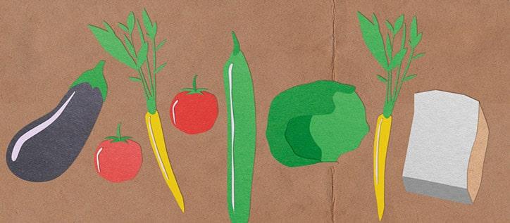 Vegatarische Alternativen zum Fleisch