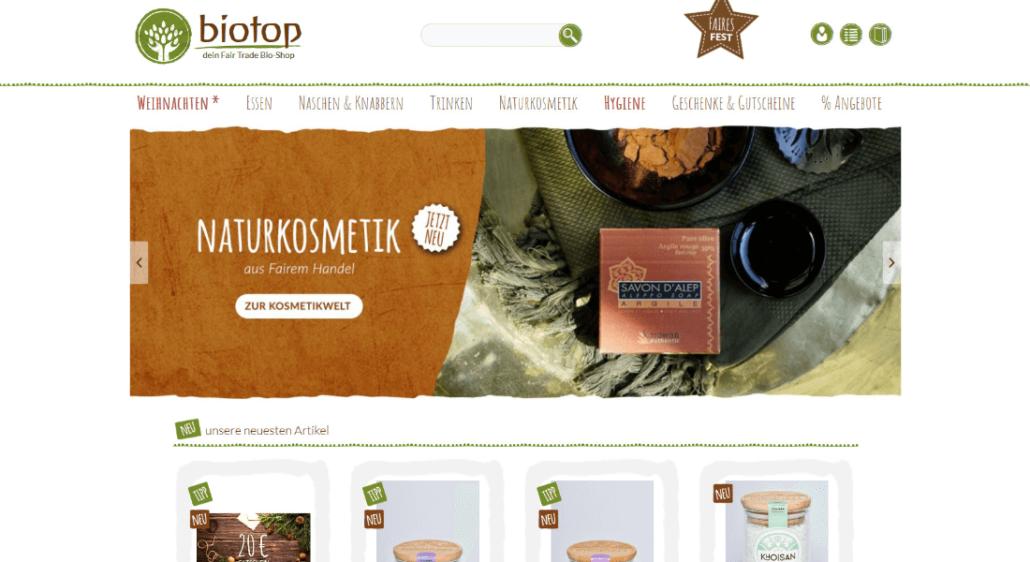Startseite Biotop