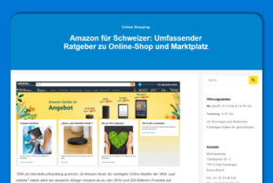 Amazon Ratgeber Screenshot