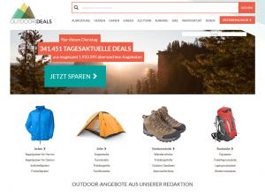 Screenshot von OutdoorDeals.de