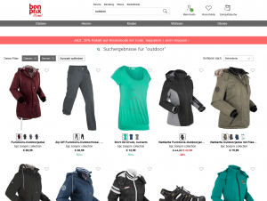 Screenshot von bonprix de