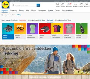Screenshot: Lidl.de