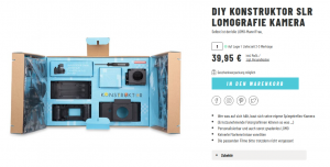 Lomografie-Kamera-Selbstbauset