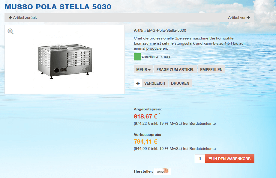 Musso Pola Stella 5030