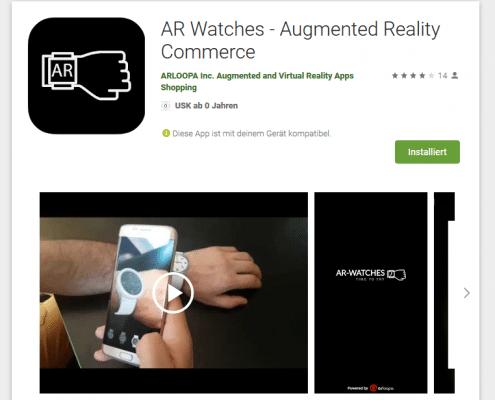 App-Foto Google Play Store