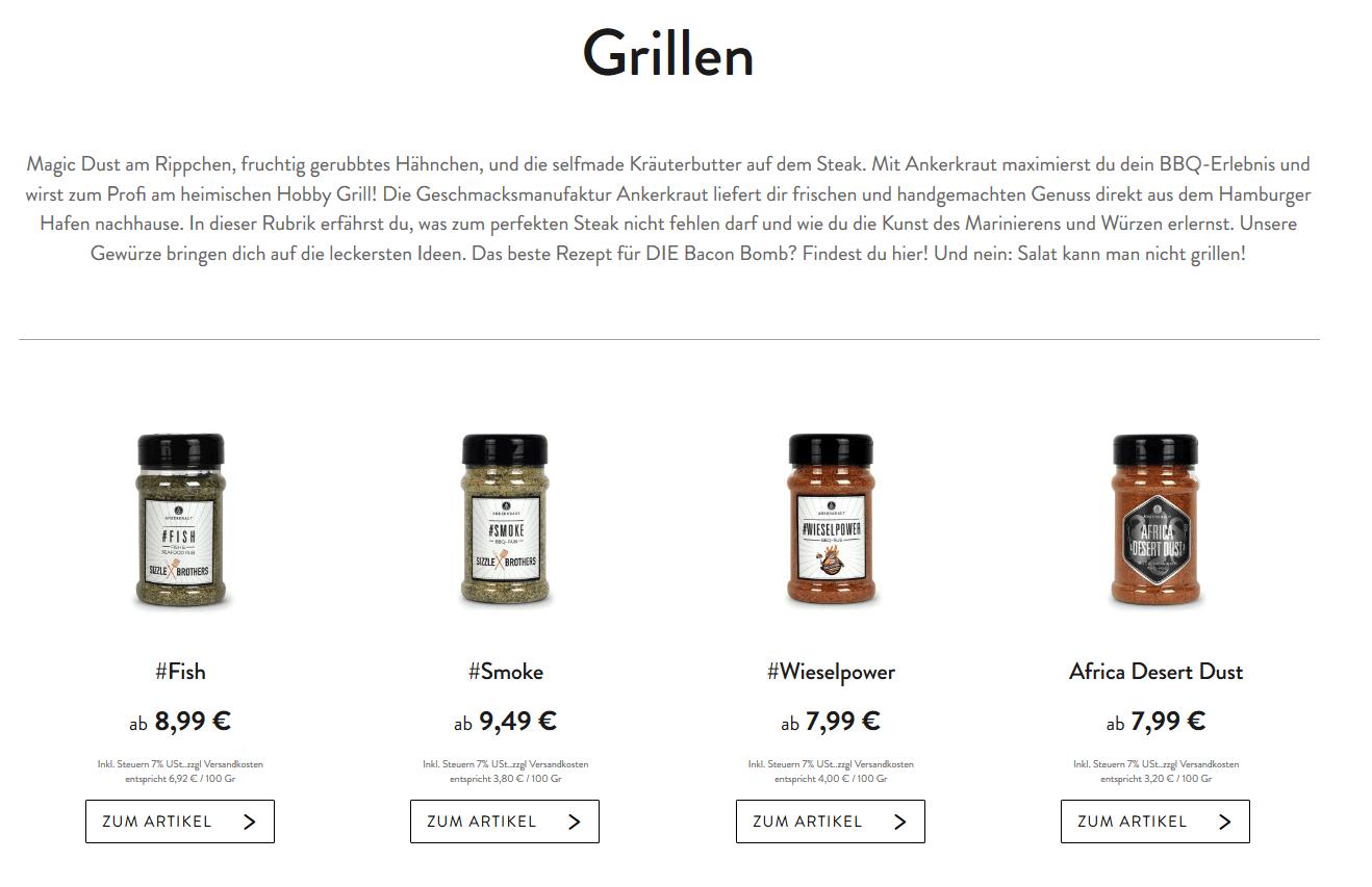 Ankerkraut Geschmacksmanufaktur