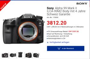 Sony Alpha 99 II Body