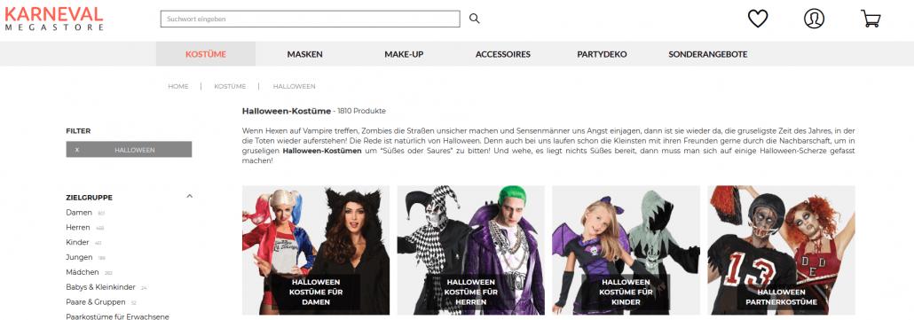 Startseite https://www.karneval-megastore.de
