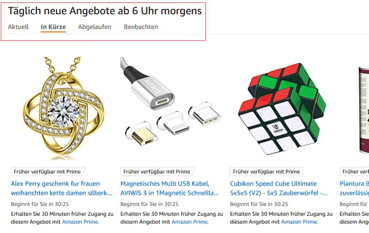 Angebote auf Amazon