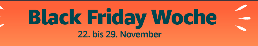 Banner Black Friday Week