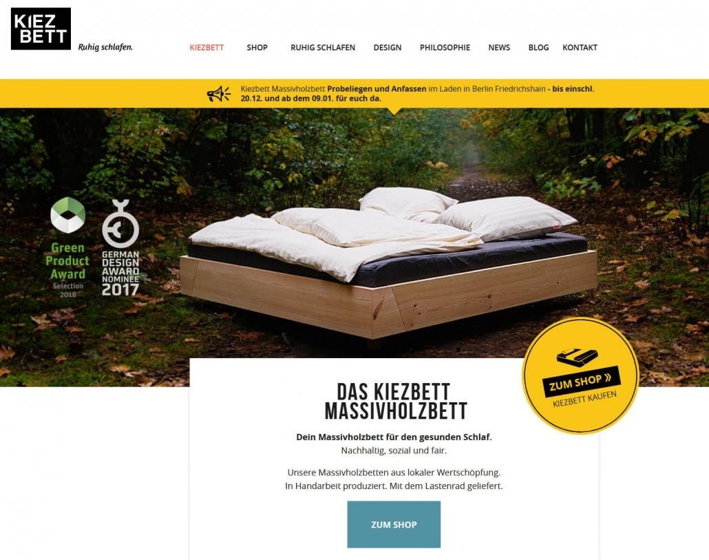 Startseite www.kiezbett.com