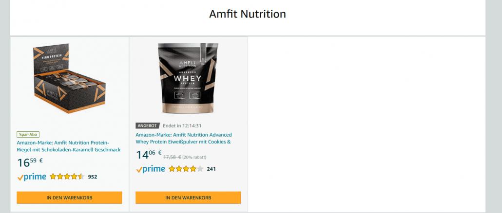 Amazon Eigenmarke Amfit NutritionA
