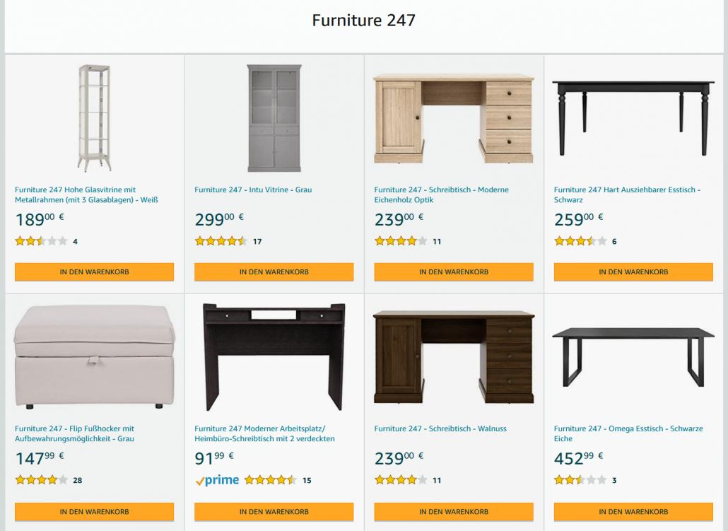 Amazon Eigenmarke Furniture 247