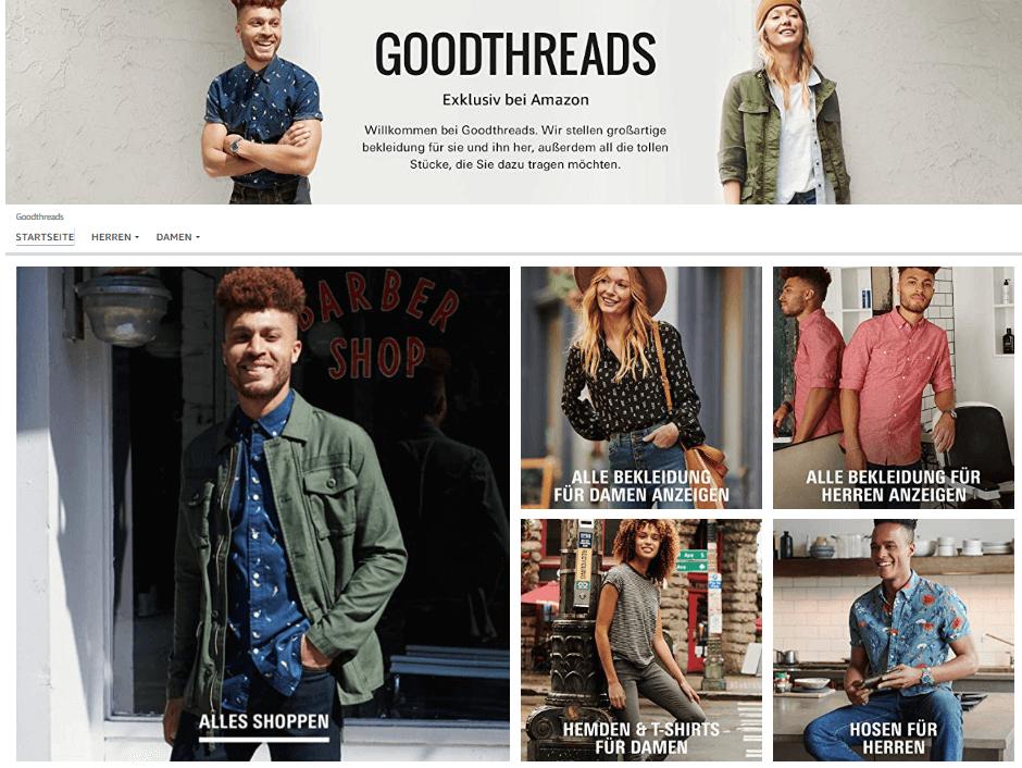 Amazon Eigenmarke Goodthreads
