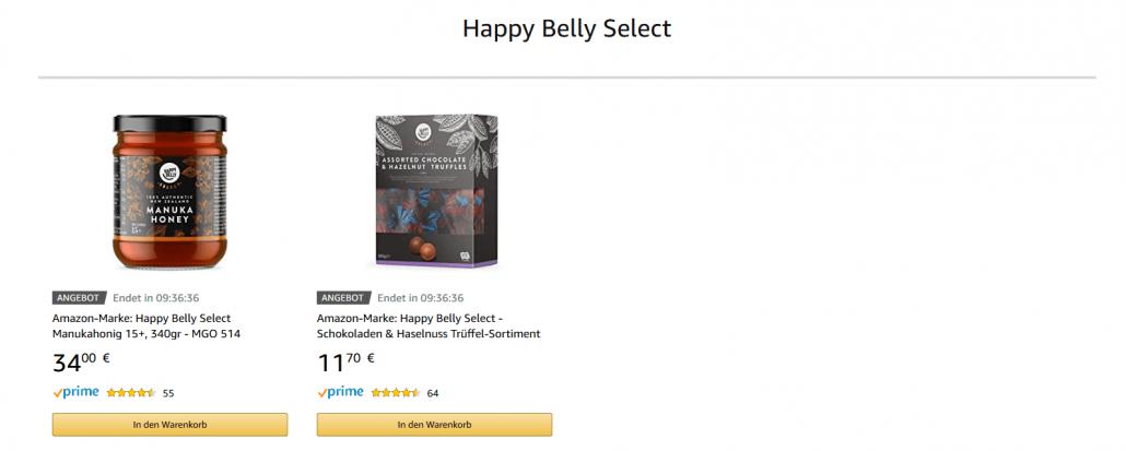 Amazon Eigenmarke Happy Belly Select