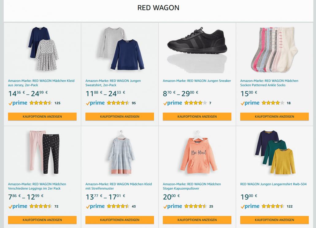 Amazon Eigenmarke für Kinder Red Wagon