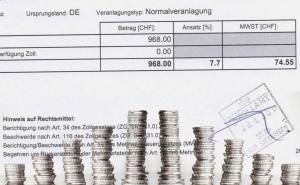 Titelbild Beispiele Verzollung Mehrwertsteuer und Zoll der Schweiz