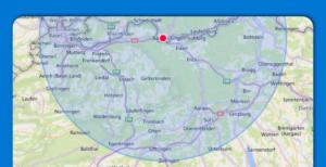 Umkreis 30 km MyPaketshop