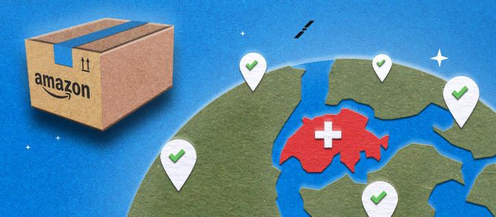 In der Schweiz kein Amazon