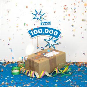 Mehr als 100.000 Sendungen bei MyPaketshop