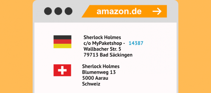 Amazon Rechnungsadresse