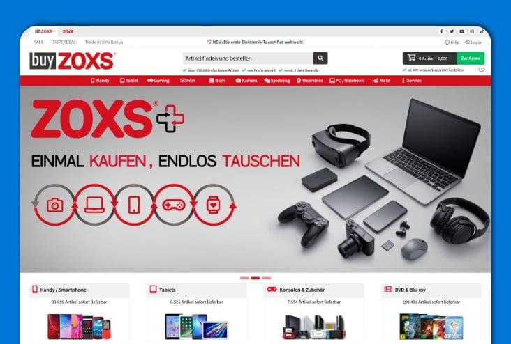 buyZOXS - Spielzeug, Unterhaltungselektronik, Medien
