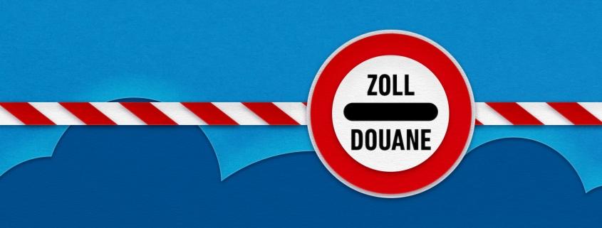 Grenze zur Schweiz - Zoll