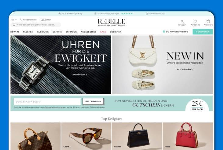 Rebelle - Luxusartikel & Designerstücke
