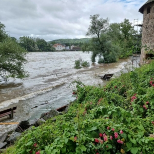 Rheinufer in Bad Säckingen