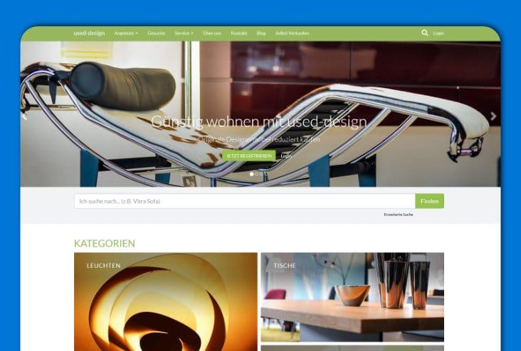 used-design - Designer-Möbel