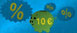 Ab heute 10 Euro von Amazon für Prime Day bekommen