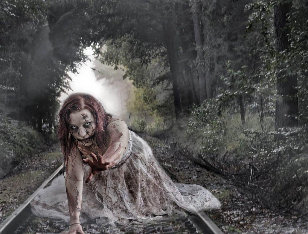 Zombie Frau